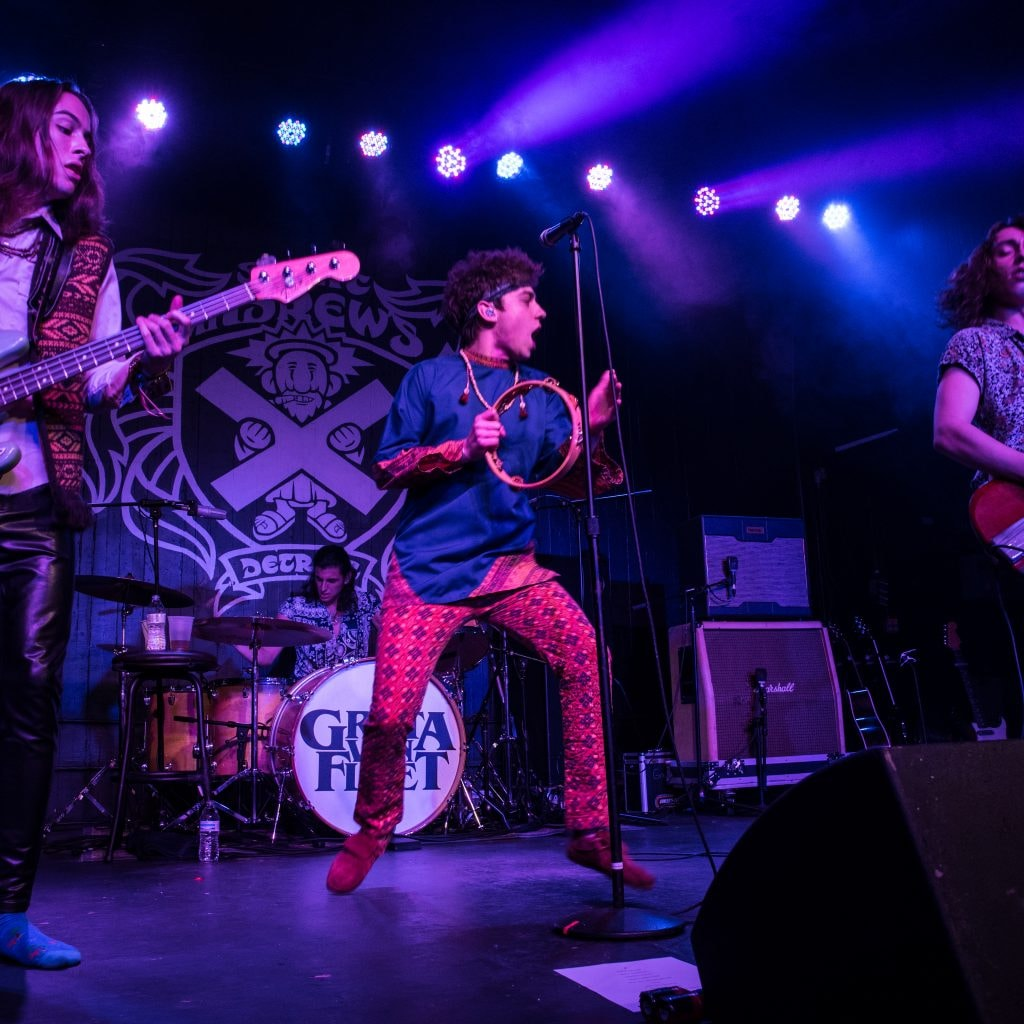 Dave And Chuck The Freak Podcast >> Greta Van Fleet rocks another SOLD OUT show at St. Andrews Hall