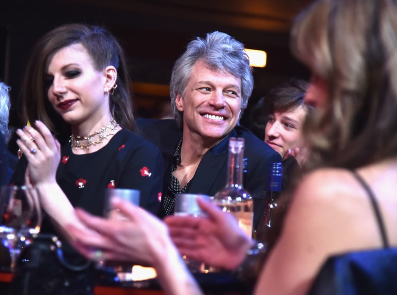 CLEVELAND, OH - APRIL 14:  Jon Bon Jovi attends the 33rd Annual Rock & Roll Hall of Fame Induction Ceremony at Public Auditorium on April 14, 2018 in Cleveland, Ohio.  (Photo by Theo Wargo/Getty Images For The Rock and Roll Hall of Fame)