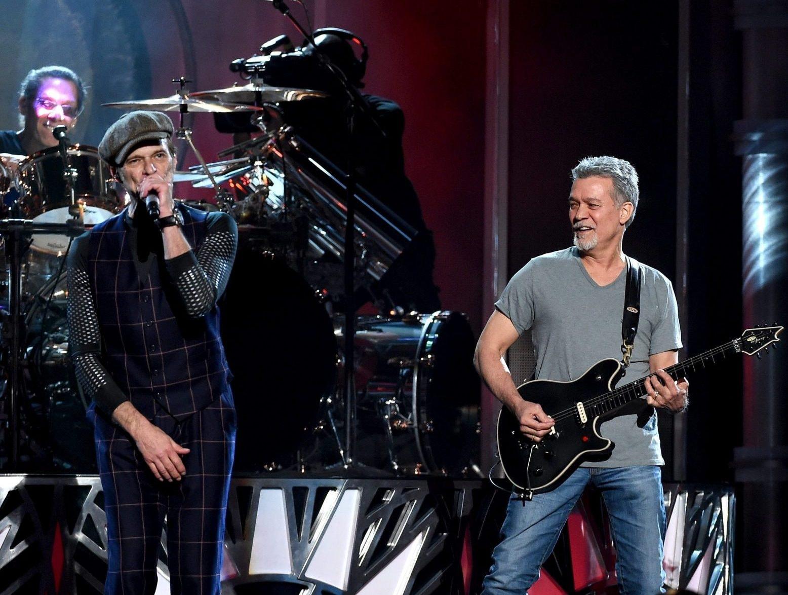 David Lee Roth Alludes to Eddie Van Halen Health Rumors ...
