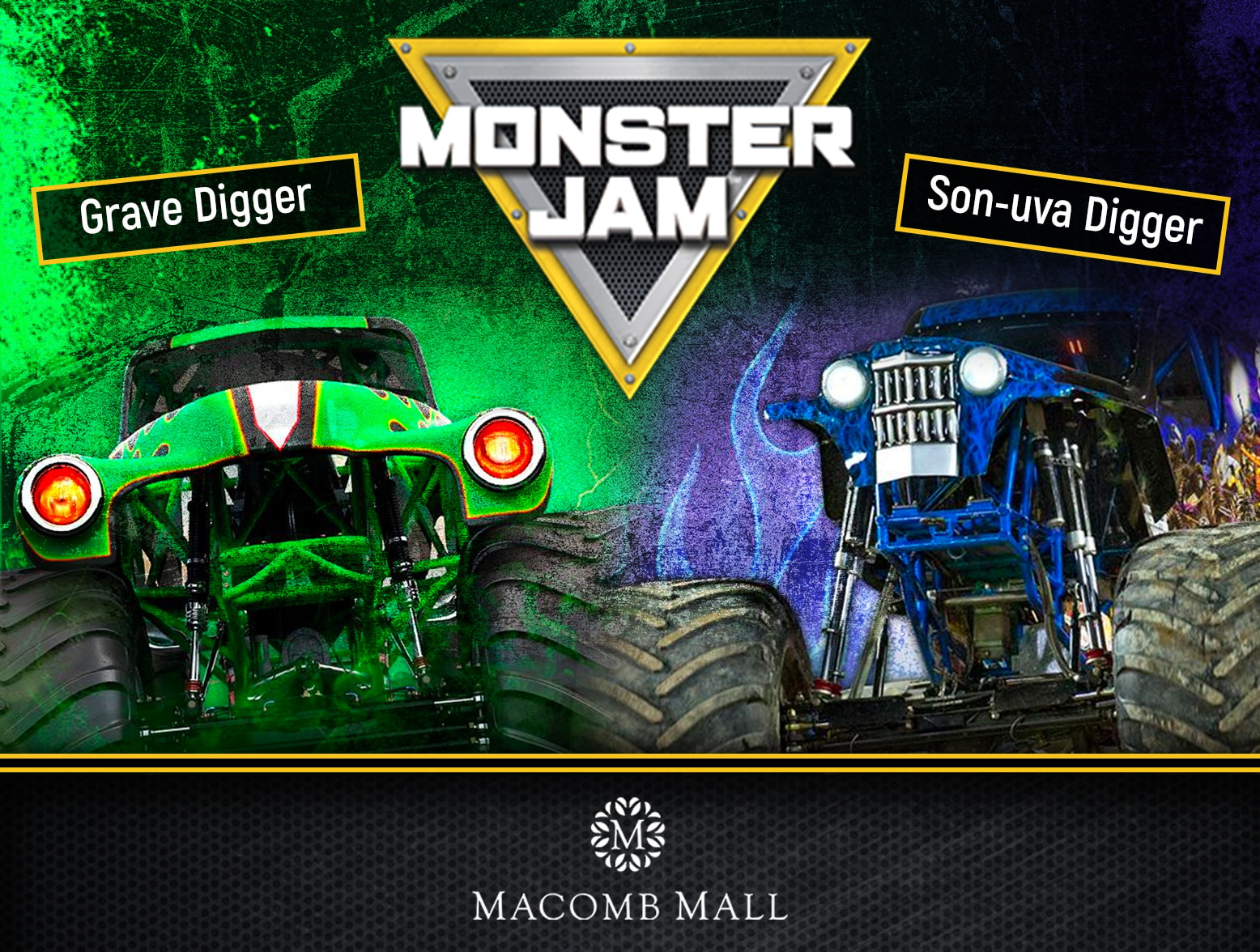 Cancelled Join Wrif For Monster Trucks At Macomb Mall