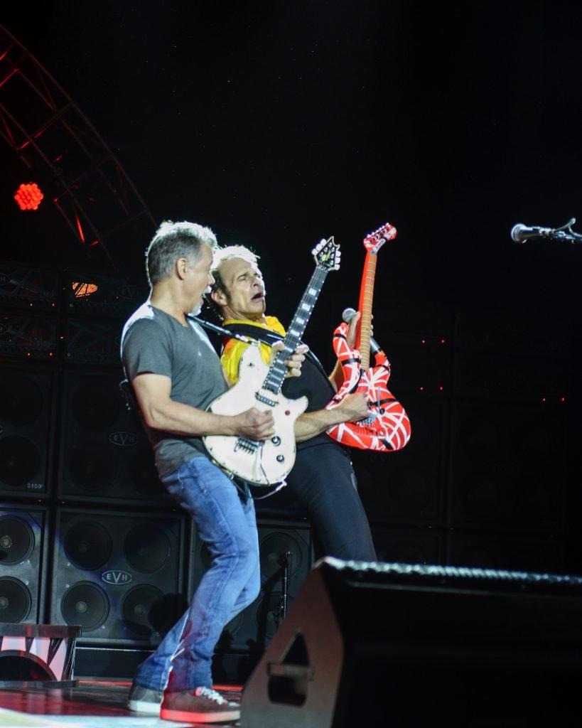 Eddie Van Halen and David Lee Roth, New Jersey, 2015