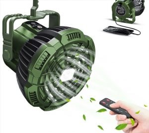 rechargeable camping fan