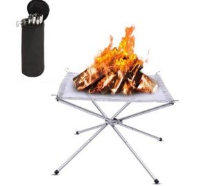 fire pit camping gear