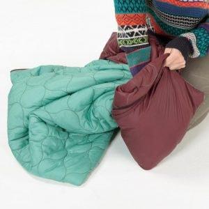 puffy kachula adventure blanket from Coalatree