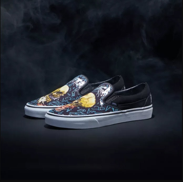 Metallica Vans Shoes